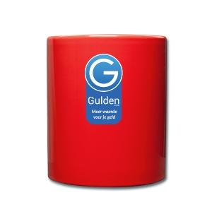 Gulden - Meer waarde voor je geld - Mok uni