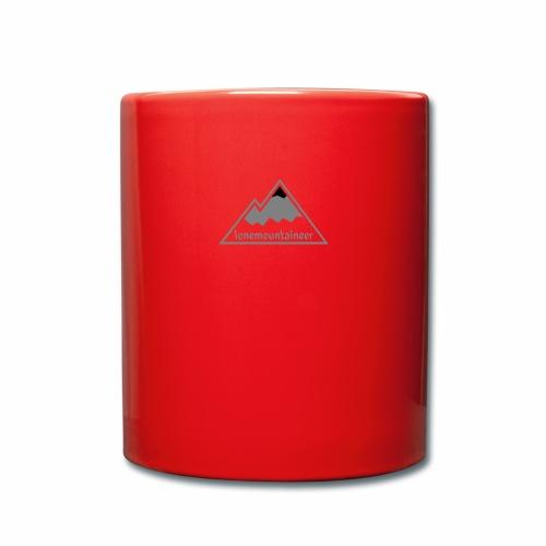 Lonemountaineer logo blk - Full Colour Mug