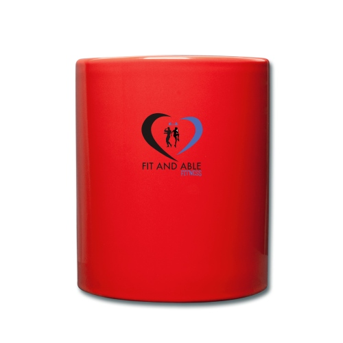 Fit and Able Fitness Logo - Full Colour Mug
