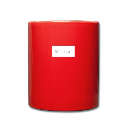 MerciLess - Tasse einfarbig