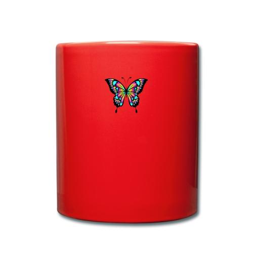 RegenbogenSchmetterling - Tasse einfarbig