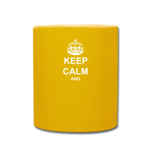 Keep Calm And Your Text Best Price - Full Colour Mug