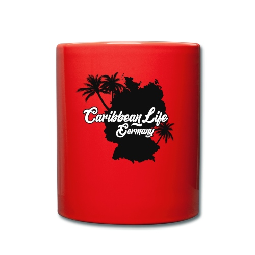 Caribbean Life Germany - Tasse einfarbig