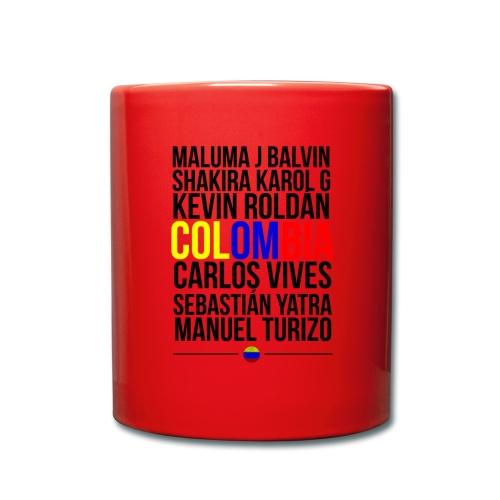 Reggaeton Shirt Kolumbien - Tasse einfarbig