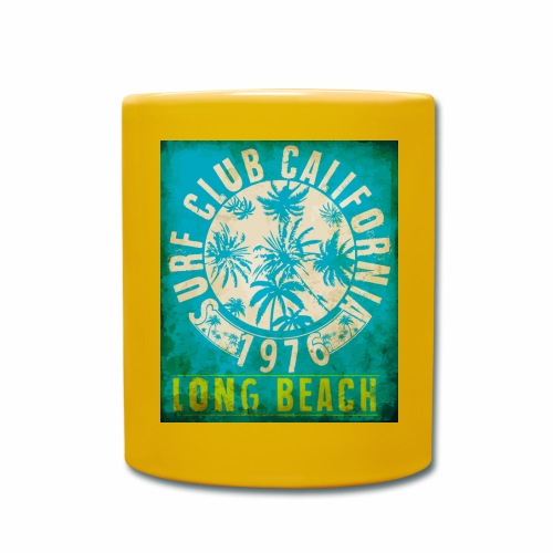 Long Beach Surf Club California 1976 Gift Idea - Full Colour Mug
