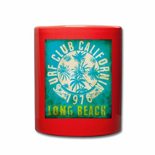 Long Beach Surf Club California 1976 Gift Idea - Full Colour Mug