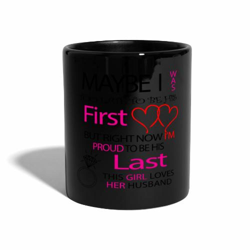 Ich liebe meinen Mann - Geschenkidee - Full Colour Mug