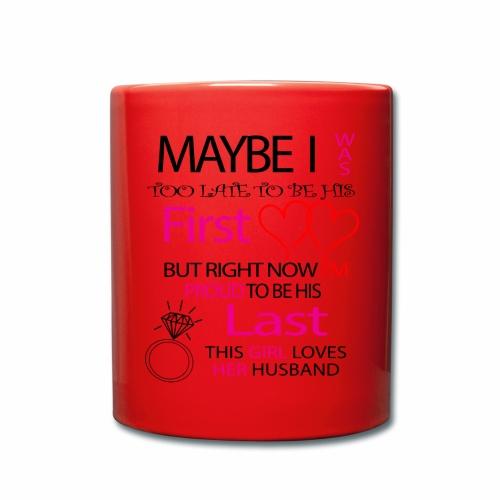 I love my husband - gift idea - Full Colour Mug