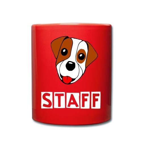 Jack Russell STAFF - Tasse einfarbig