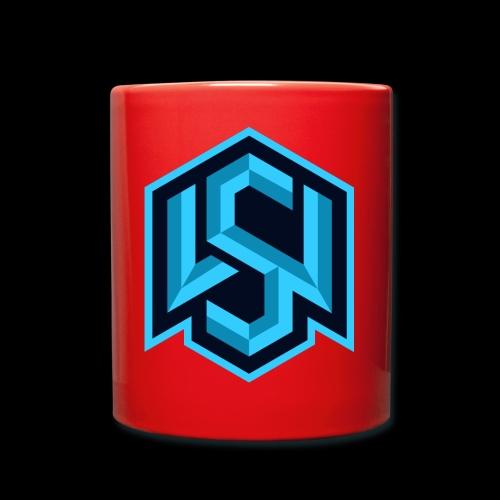 """Silent Wolves Inverted """"SW"""" Merchandise - Full Colour Mug"""