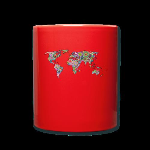 Hipsters' world - Full Colour Mug