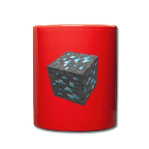 BLOCK DE DIAMANT MINECRAFT - Tasse en couleur