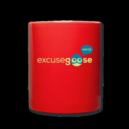 excusegoose 01 - Tasse einfarbig