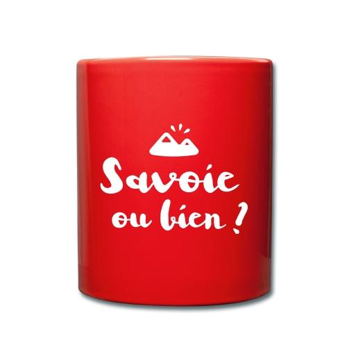 Savoie ou bien - Mug uni