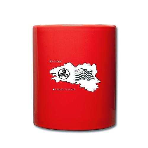 t-shirt Fier d'etre breton - Mug uni