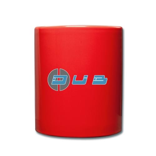 Dub Geometry Simple Blue - Tasse einfarbig