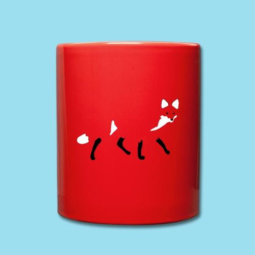 FOX WALK - Tasse einfarbig