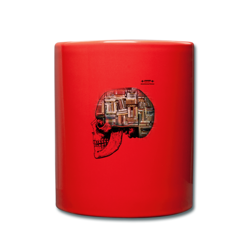 GSF MIND FULL OF BOOKS DESIGN - Tasse einfarbig
