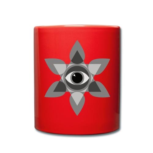 das Auge des Bewusstseins - Tasse einfarbig