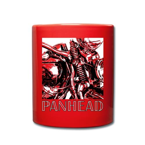Panhead motordetail 02 - Mok uni