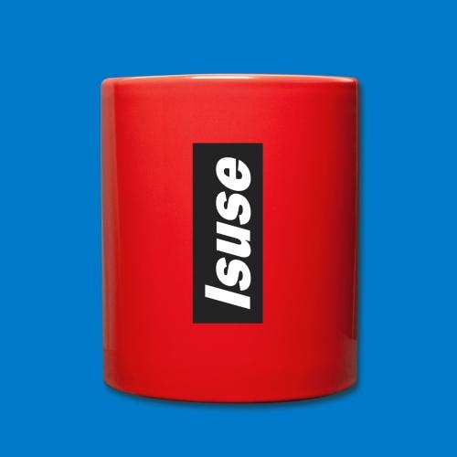 box logo black isuse - Taza de un color