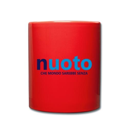 NUOTO - CHE MONDO SAREBBE - Tazza monocolore