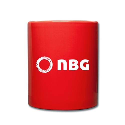 NBG Logo Icon - Tasse einfarbig