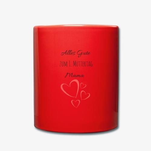 BABY erster Muttertag - by Muttertags Design - Tasse einfarbig