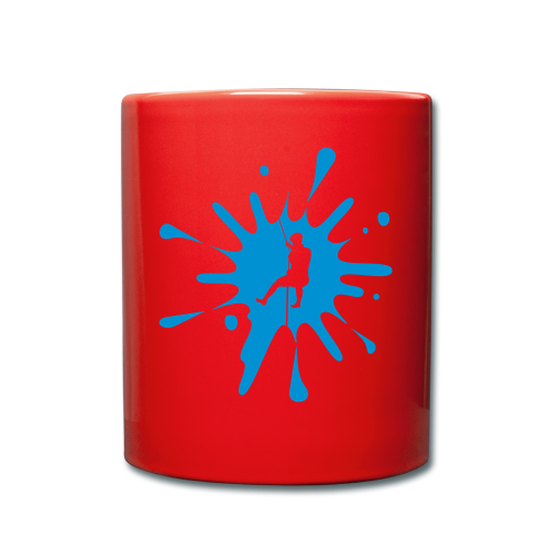 cs Canyoning Splash - Tasse einfarbig