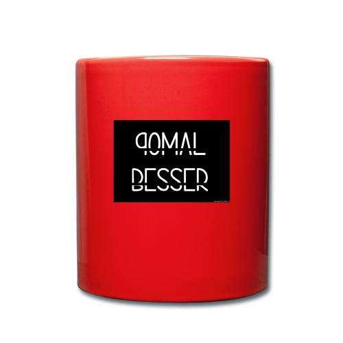 90malBesser - Tasse einfarbig