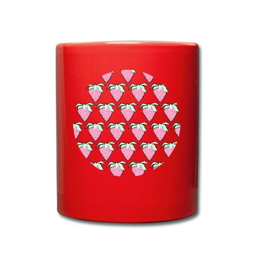 Aardbeien - Mok uni