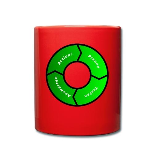 PDCA 1 - Tasse einfarbig