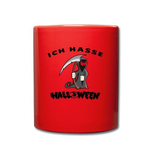 Für alle die die Halloween nix abgewöhnen können - Tasse einfarbig