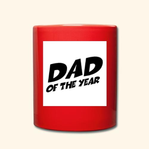 Årets pappa - Ensfarget kopp