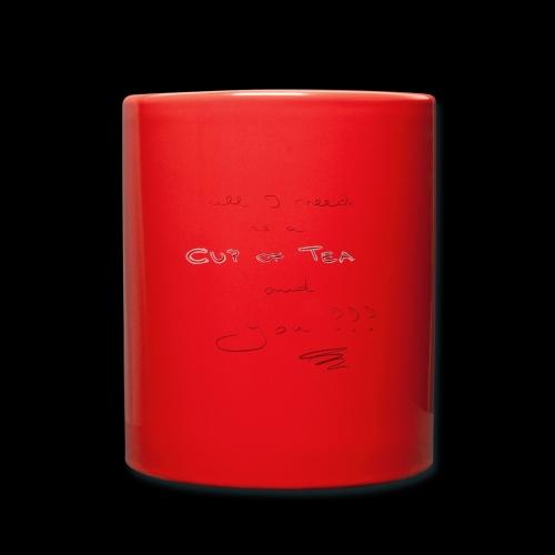 Tee friend - Tasse einfarbig