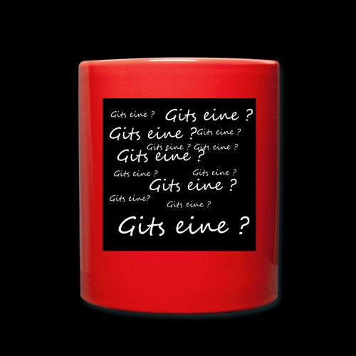 Gits eine ? - Tasse einfarbig