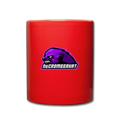 Necromeerkat logo + texte - Mug uni