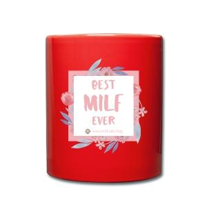 Best MILF ever - Milfcafé Shirt - Tasse einfarbig
