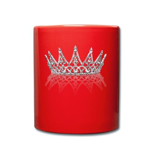 Queen Crown design - Full Colour Mug