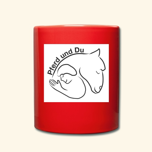 Pferd und Du - Tasse einfarbig