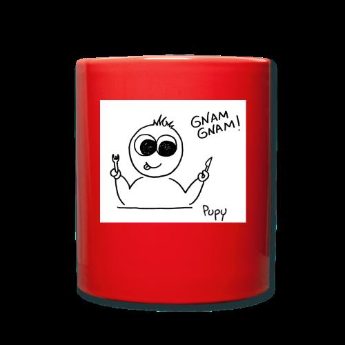 Pupy: gnam gnam! - boy - Tazza monocolore