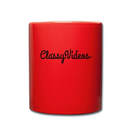 ClassyVideos - Full Colour Mug