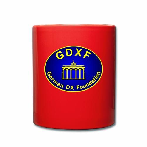 GDXF Logo - Tasse einfarbig