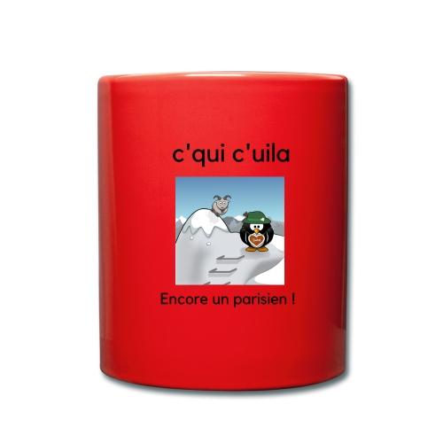 neige parisien - Mug uni