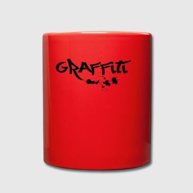 Graffiti - Tasse einfarbig