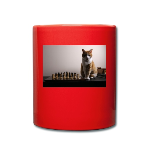 Charlie and his chess board - Full Colour Mug