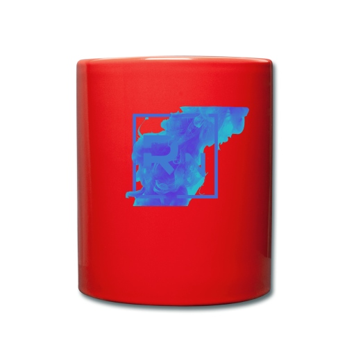 Rouge Nation Logo Smoke Liquid Ink - Full Colour Mug
