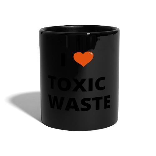 real genius i heart toxic waste - Full Colour Mug