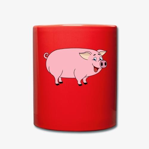 Gris - Ensfarget kopp