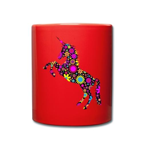 Unicorn-Floral - Tazza monocolore